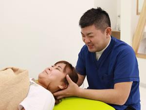 肩の痛み施術写真