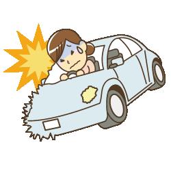 交通事故のケガ・むち打ちのイラスト